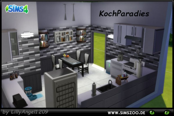 Blackys Sims 4 Zoo: Kitchen cook paradise by LillyAngel1209