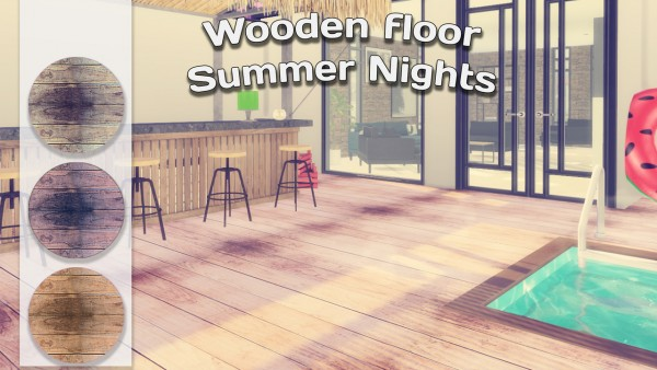 Simming With Mary: Wooden Floor Summer Nights