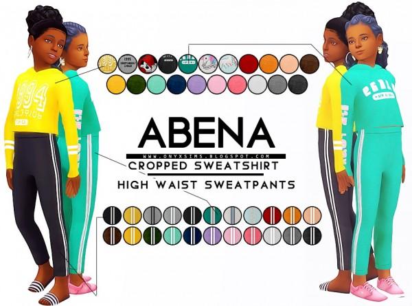 Onyx Sims: Abena Athletic Set