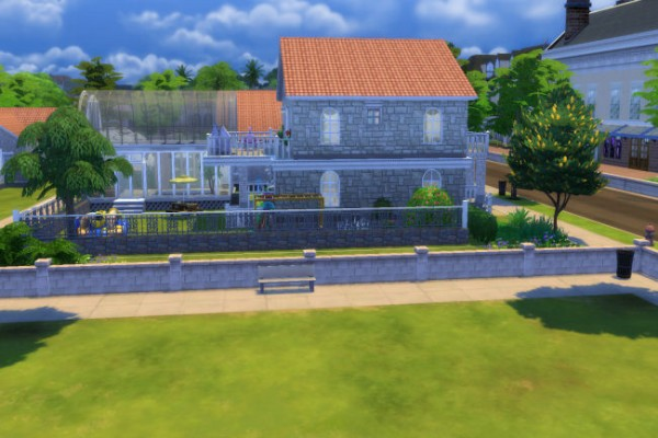 Blackys Sims 4 Zoo: Farn park by xenia491