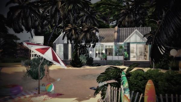 Ideassims4 art: Tropical Dream house