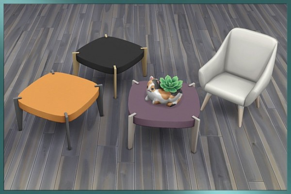 Blackys Sims 4 Zoo: Whimsical coffee table by Cappu