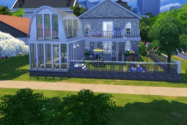 Blackys Sims 4 Zoo: Farn park by xenia491