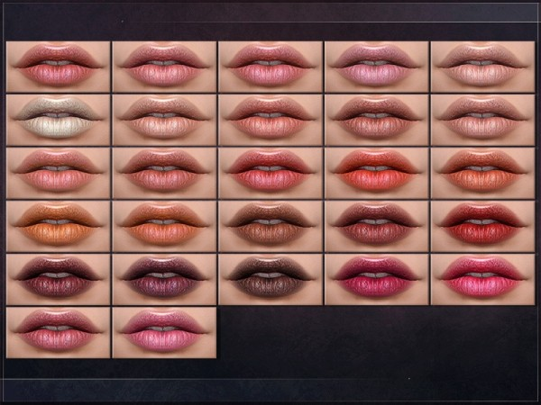 The Sims Resource: Fourier Lipstick by RemusSirion