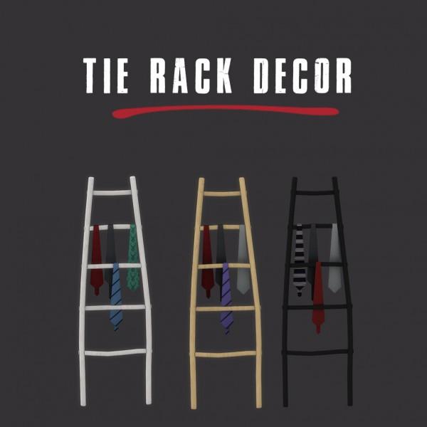Leo 4 Sims: Tie Rack Decor