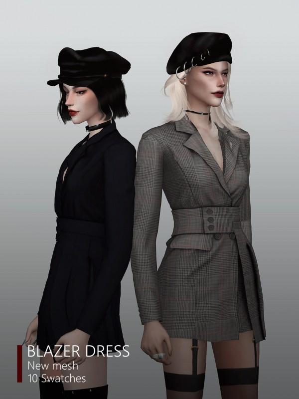 Rona Sims: Blazer dress