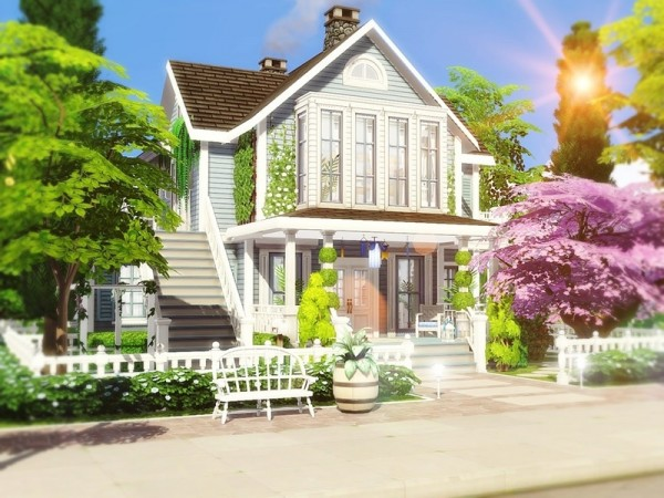 The Sims Resource: Classic Beauty 2 house by MychQQQ