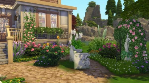 Sims Artists: Tulipe house