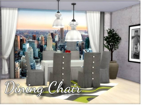 All4Sims: Dining Chair