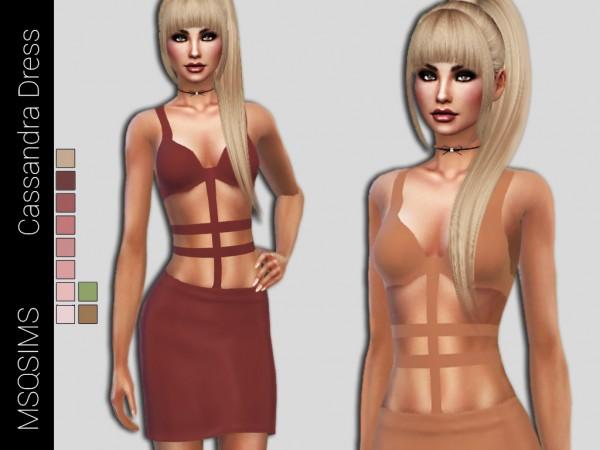 MSQ Sims: Cassandra Dress