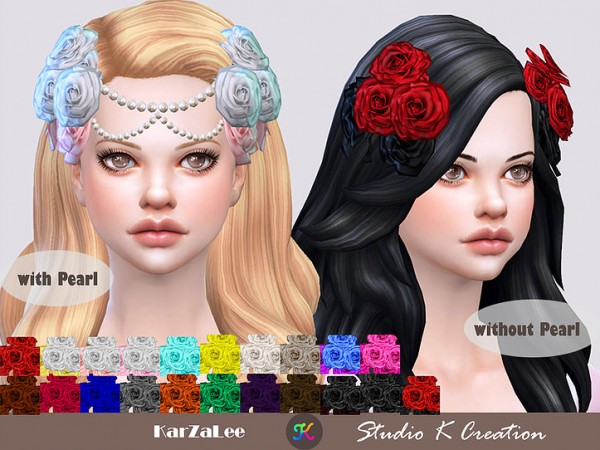 Studio K Creation: Roses headpiece