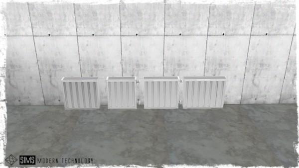 Sims Modern Technology: Dara`s Functional Radiators