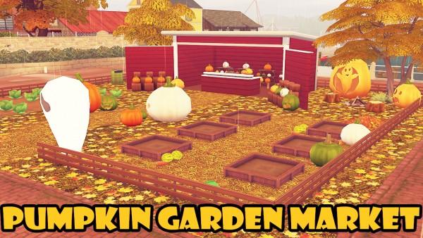 Msq Sims Pumpkin Garden Market Sims 4 Downloads