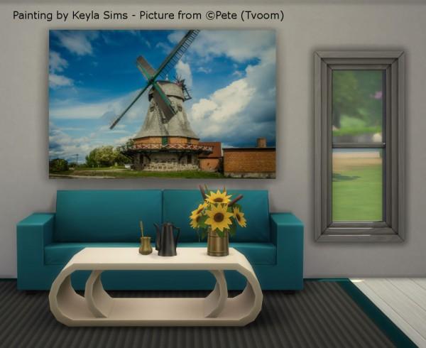 Keyla Sims: Paintings Tvoom