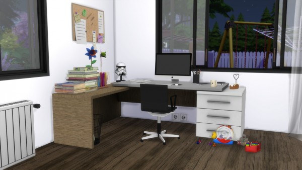 Models Sims 4: Master bedroom Orlando