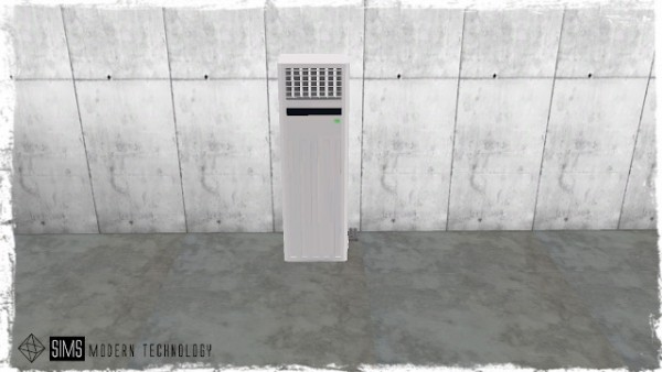 Sims Modern Technology: Functional Air Con Floor Free Standing