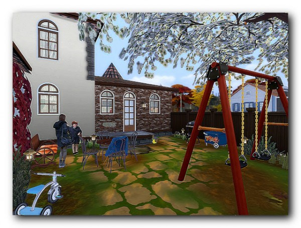 Architectural tricks from Dalila: Hallow Slaf house 3 generations