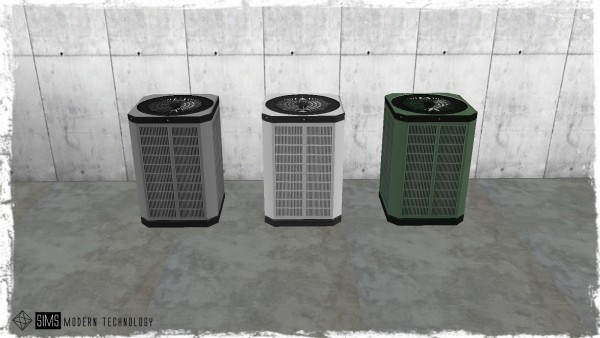 Sims Modern Technology: IDBD Functional Air Conditioner