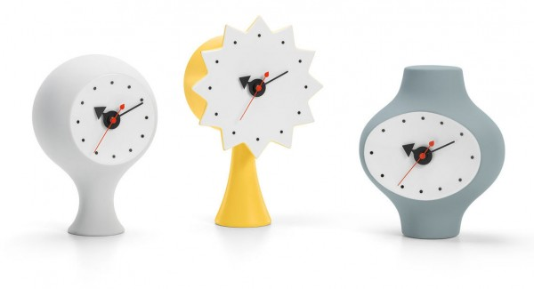 Meinkatz Creations: Ceramic Clocks by Vitra