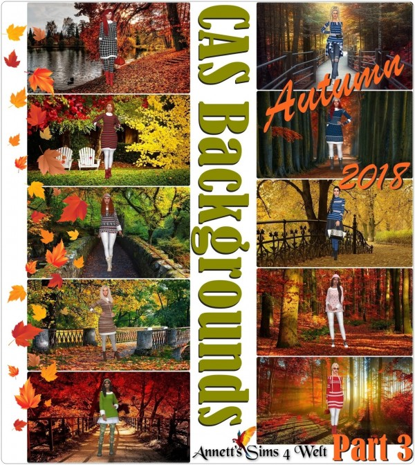 Annett`s Sims 4 Welt: CAS Backgrounds Autumn 2018 Part 3