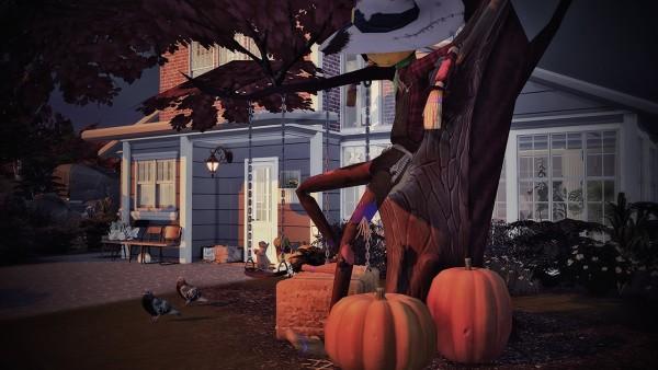 Ideassims4 art: Autumn Kiss house