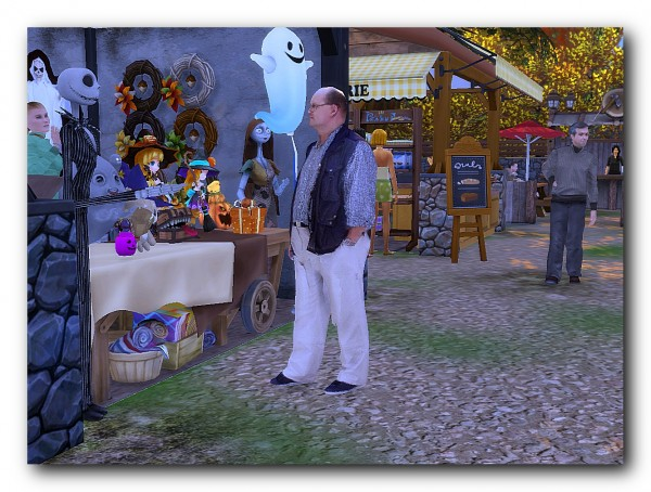 Architectural tricks from Dalila: Harvest Festival Fair