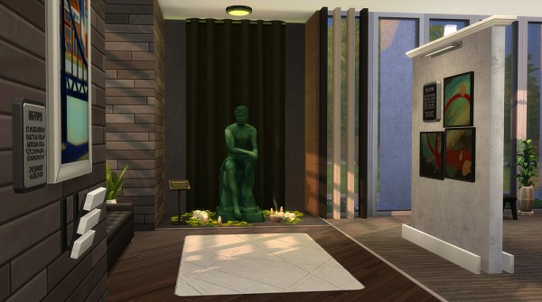 Simsontherope Plenty Of Culture House Sims 4 Downloads