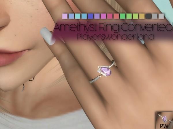 Players Wonderland: Amethyst Ring Converted
