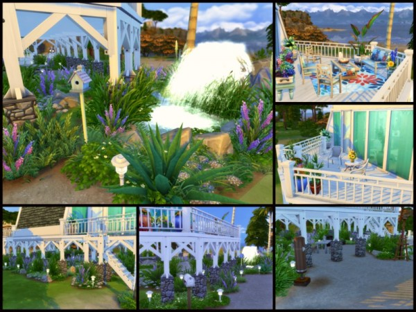 The Sims Resource: Sea Salt house by Sparky