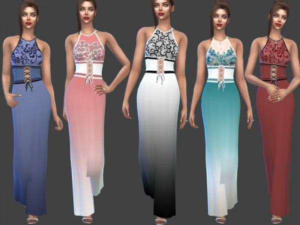 The Sims Resource: Angelica Dress by Sims House