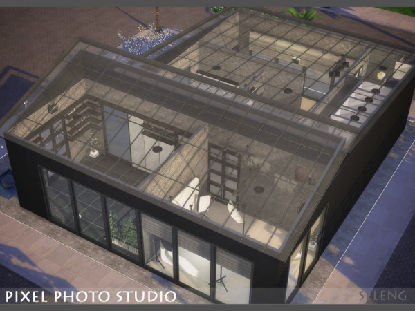 The Sims Resource: Pixel Photo Studio by Seleng