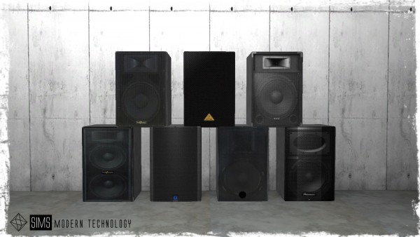 Sims Modern Technology: Concert System