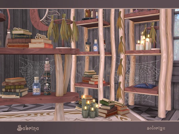 The Sims Resource: Sabrina store objects by soloriya