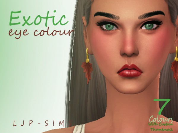 The Sims Resource: Exotic Eyes by Exotic Eye