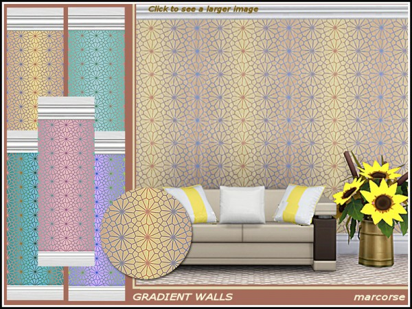 The Sims Resource: Gradient Walls by marcorse