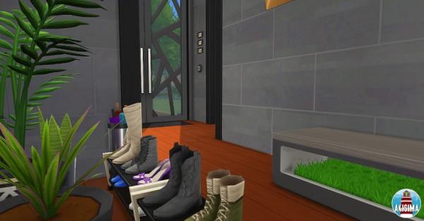 Akisima Sims Blog: Modern Wood house