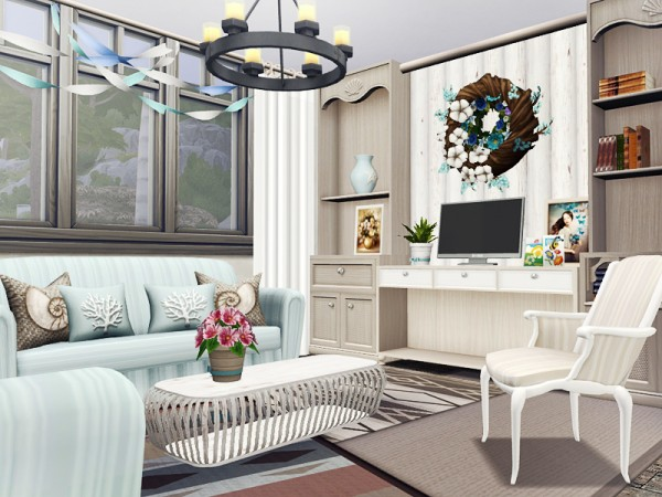 The Sims Resource: Roseanne house by Rirann