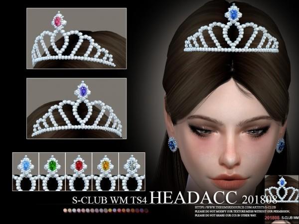 The Sims Resource: Headacc F 201808 by S Club