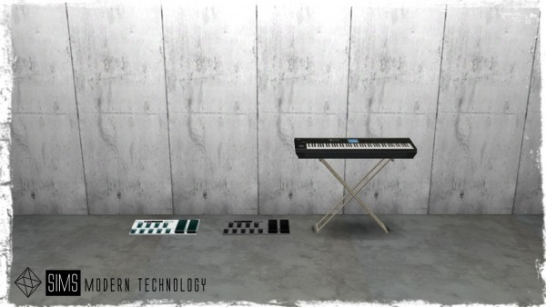 Sims Modern Technology: Concert System