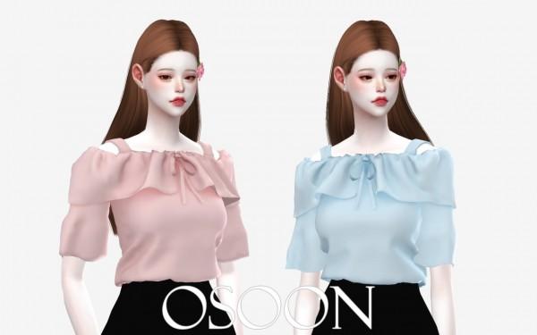Osoon: Rose Blouse