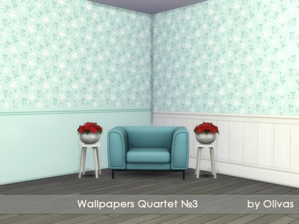 The Sims Resource: Wallpapers Quartet N3 by olivas