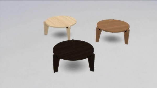 Meinkatz Creations: Gueridon Bas coffee table by Vitra