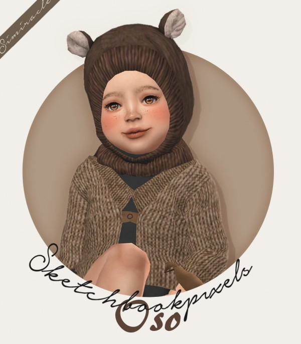 Simiracle: Oso hat for toddlers