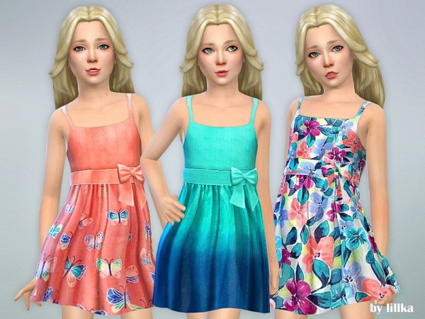 The Sims Resource: Designer Dresses Collection P113 by lillka