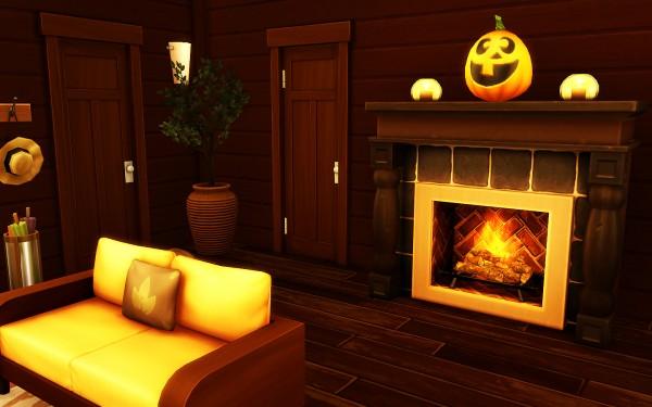 MSQ Sims: Cozy Autumn Home (NO CC)