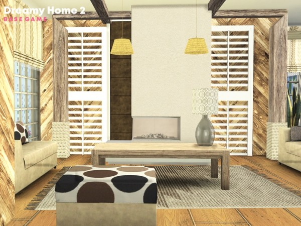 The Sims Resource: Dreamy Home 2 by Pralinesims