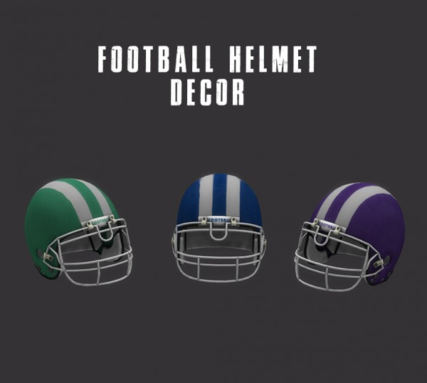 Leo 4 Sims: Decor Helmets