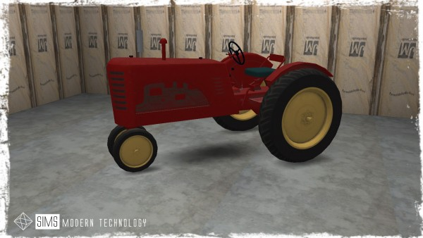 Sims Modern Technology: Farm Tractor