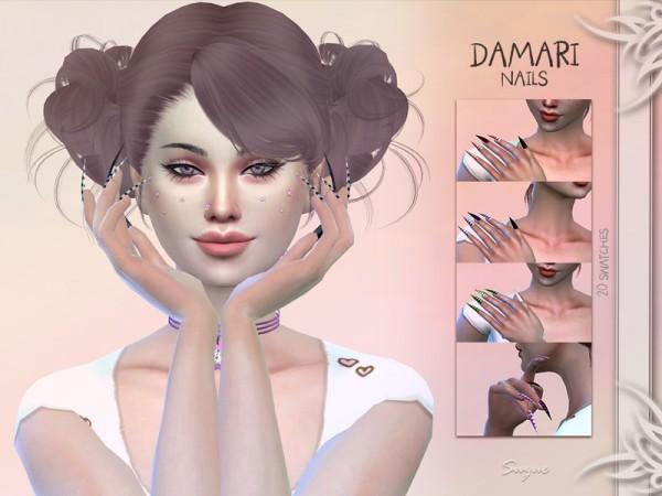 The Sims Resource: Damari Nails by Suzue