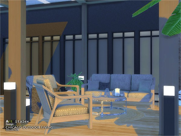 The Sims Resource Chicago Outdoor Living By Artvitalex